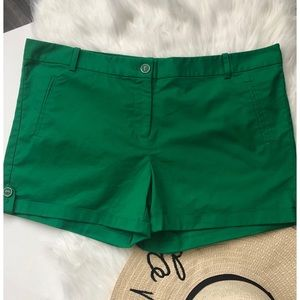 NWT The Limited Green Shorts • Size 14